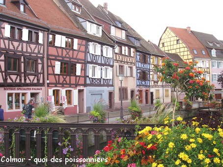 Colmar, le quai des poissonniers - Photo G.GUYOT