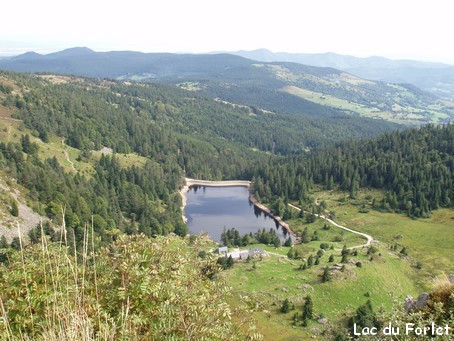 Lac du Forlet - Photo G.GUYOT