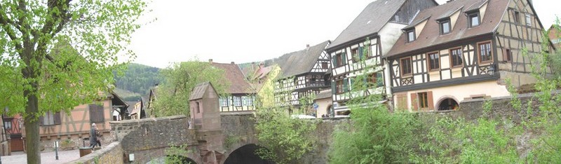 Kaysersberg - vue du pont - Photo Mercelis