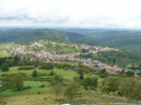 Dabo - vue depuis le rocher - Photo BERTHEVILLE