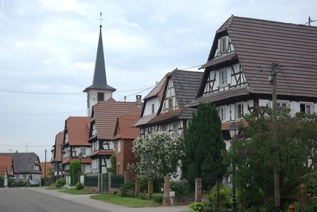 Seebach - Village d'alsace - Photo A. GRASSLER