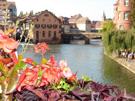 STRASBOURG - les Quais - Photo BERTHEVILLE