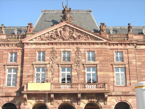 STRASBOURG - Place KLEBER - Photo BERTHEVILLE