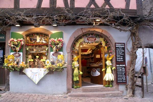 Riquewihr достопримечательности фотографии Эльзас, Франция