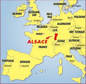 Carte Lalsace.Accueil Du Tourisme En Alsace