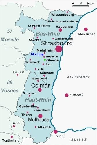Carte Dalsace Touristique.Obernai Un Superbe Village D Alsace Au Pied Du Mont Sainte