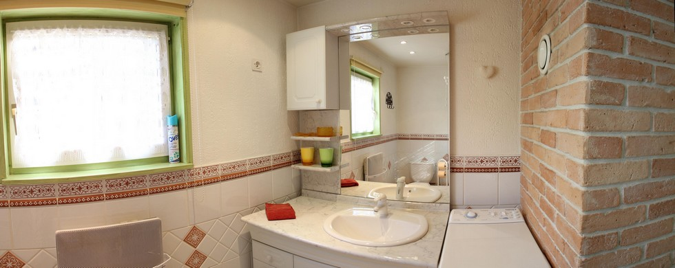 salle de bain du gite en alsace
